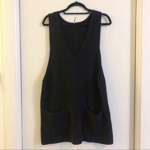 Free People Nikki Sweater dress (black)